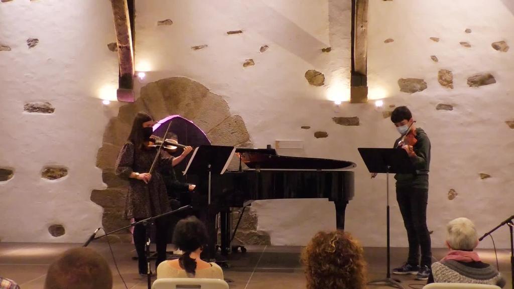 Beasaingo Musika Eskolaren Santa Zezilia kontzertua