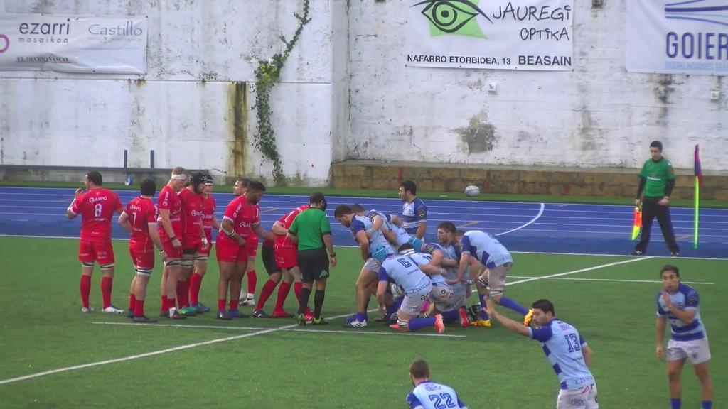 Ampo Ordizia Rugby vs Complutense Cisneros - Partida osoa