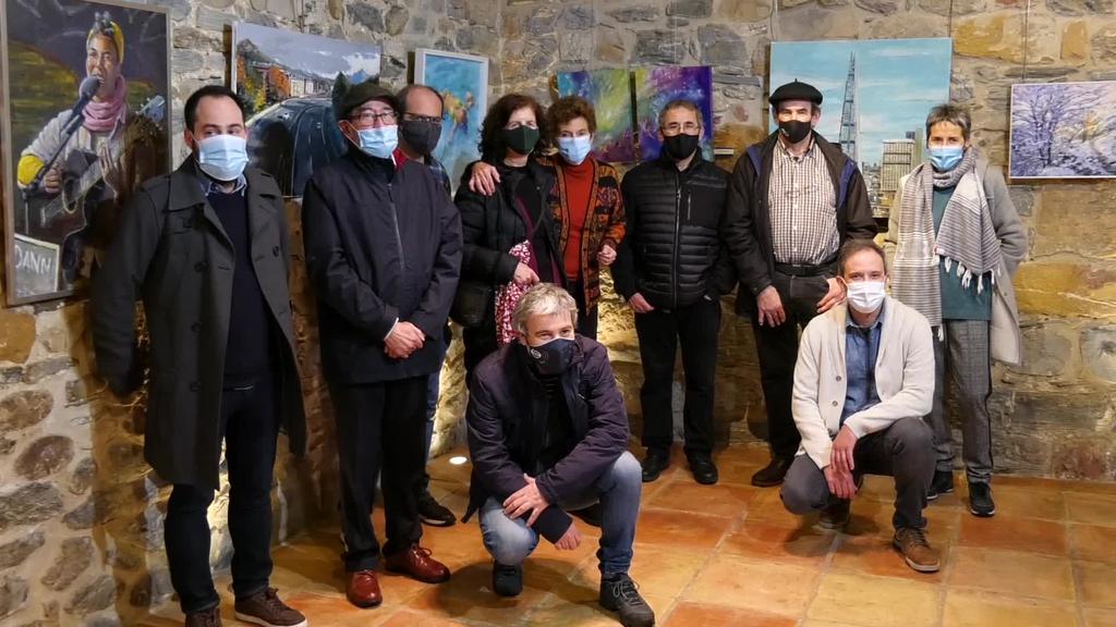 Urtarrilaren 3ra arte ikusi ahalko dira Goierriko Artisten Topaketako lanak Igartza jauregian