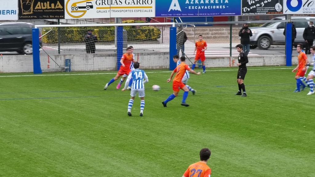 Beasain K.E.-k 1 eta 0 garaitu zuen Tolosa F.T. Loinaz futbol zelaian jokatutako partiduan