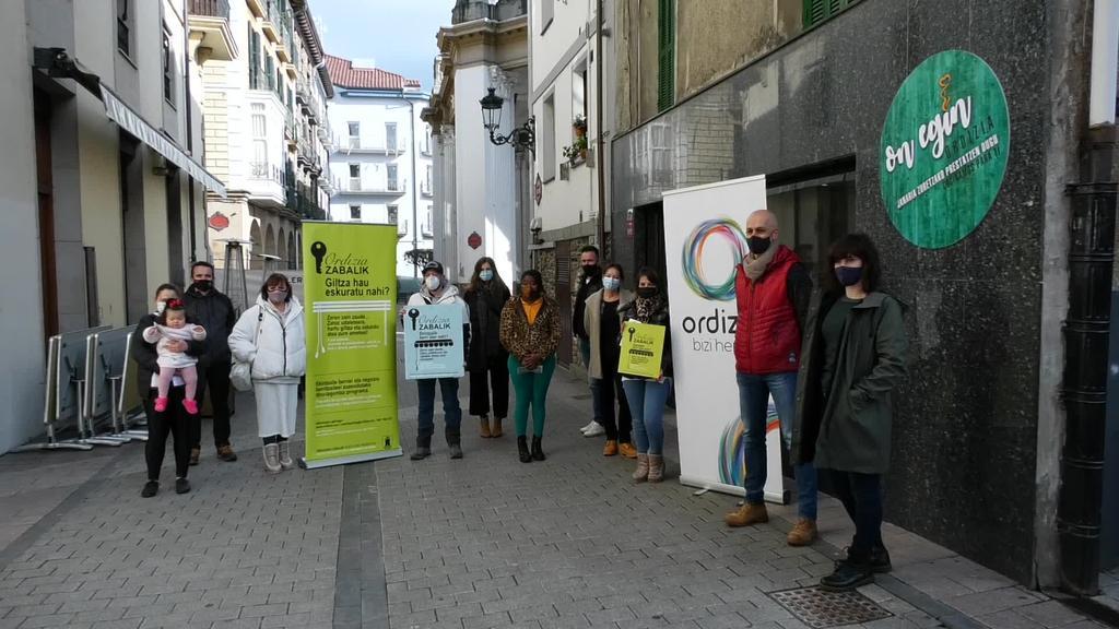 """Hamar ekintzailek jaso dute laguntza """"Ordizia Zabalik"""" programaren baitan"""