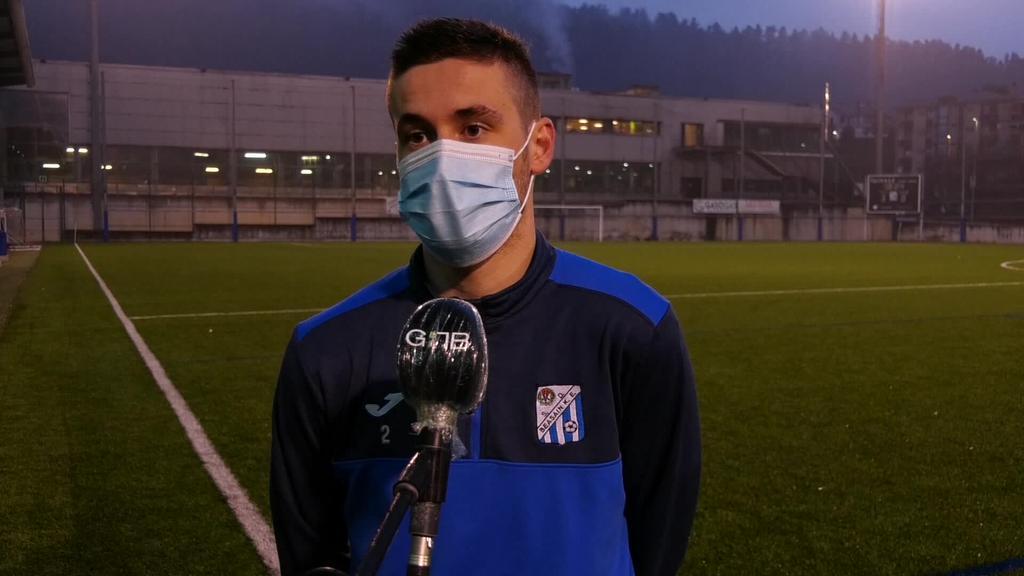 Beasain K.E.ek 0-1 menderatu zuen Somorrostro Iker Garmendiaren gol batekin