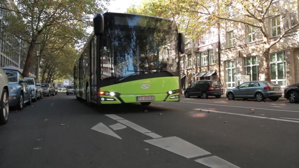 Hidrogeno bidezko 50 autobus egingo ditu CAF taldeko Solarisek Austria eta Herbeheretarako