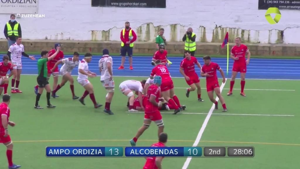 Ampo Ordizia Rugby vs Lexus Alcobendas - Partida osoa