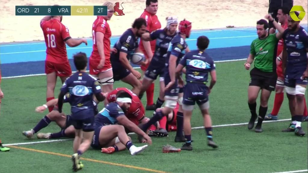 Ampo Ordizia Rugby VS VRAC Quesos Entrepinares - Partida osoa