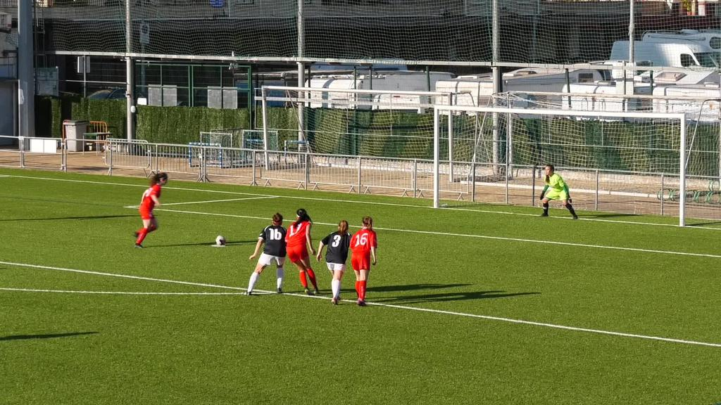 """Goierri Gorrik 2 eta 2 berdindu zuen pasa den asteburuan Oiartzun """"B"""" taldearen aurka"""