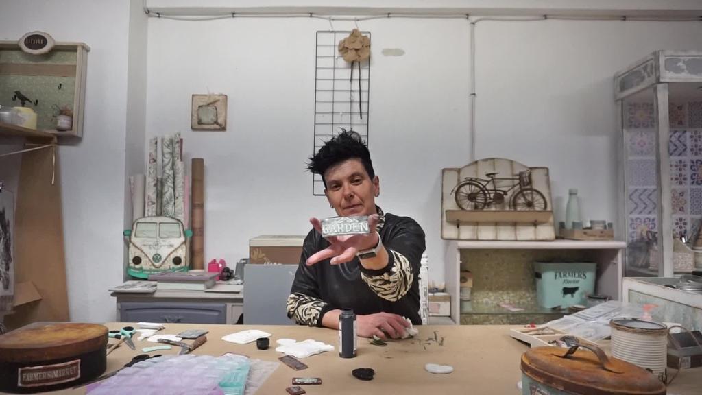 Marta - Moldeekin egindako piezak
