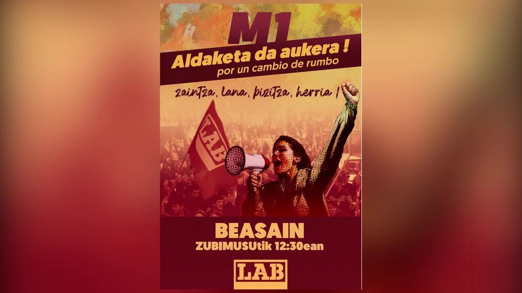 Datorren Maiatzaren 1erako mobilizazioak deitu dituzte ELA eta LAb-ek