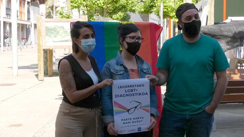 Legorretako udalak Sudergintza eta Hiruki Larroxa elkarteekin batera LGTBI+ kolektiboaren inguruan bideratutako egitasmoa abiaraziko du
