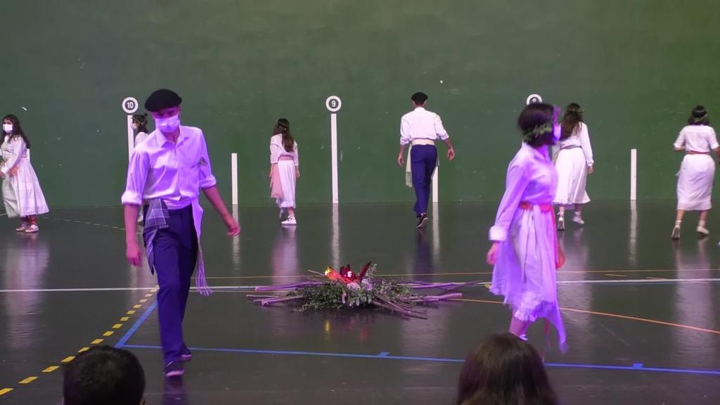 Ormaiztegiko San Joan bezperako dantzak