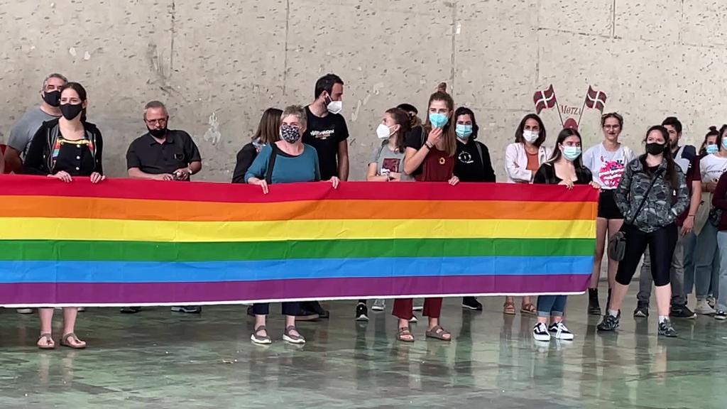 LGTBI+Harrotasunaren Nazioarteko Egunean Goierriko Udalek eta eragileek ekimenak egin zituzten
