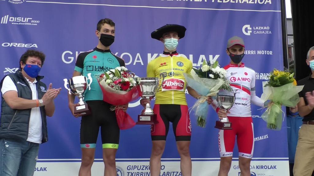 David Peñaranda Kataluniarrak irabazi zuen Gipuzkoako itzuliko azken etapa