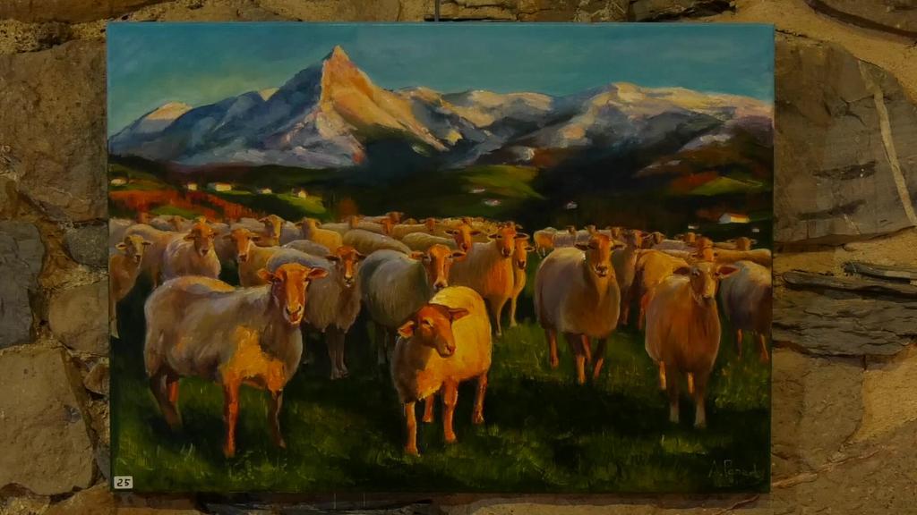 Bear pintura zaletuen Elkartearen ikasturte amaierako erakusketa Igartzan ikusgai