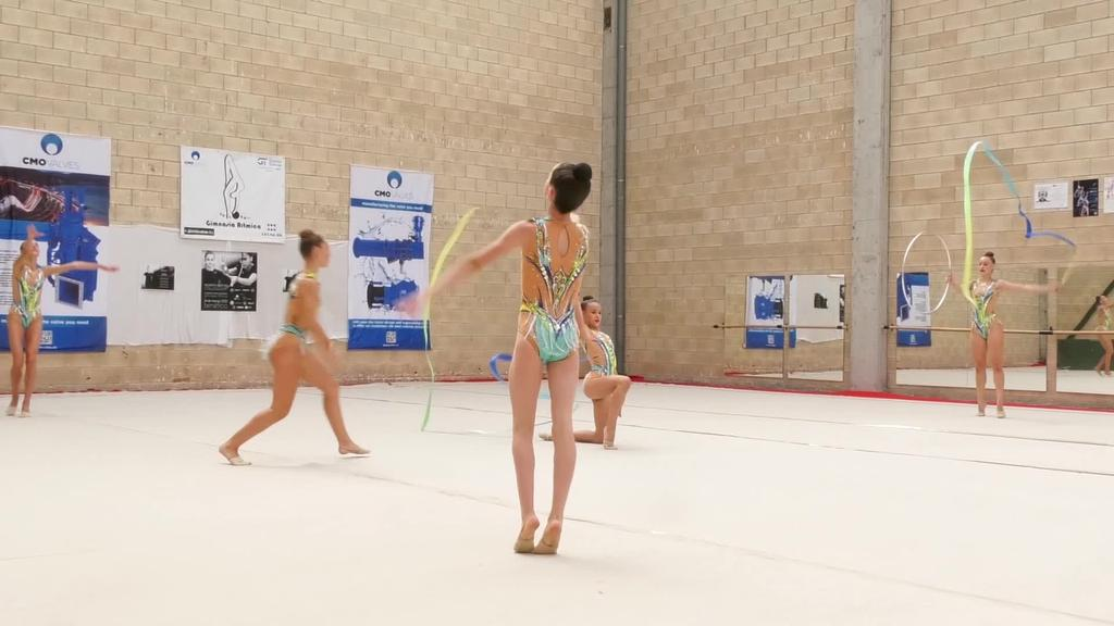 Goierriko junior mailako gimnastek brontzezko domina  lortu dute Tolosako gimnasia taldearekin