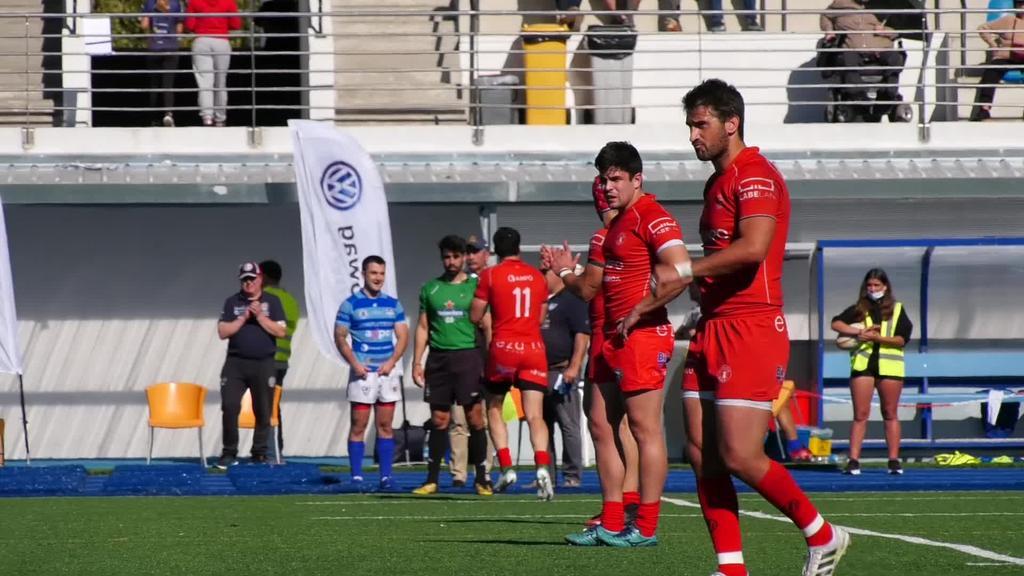 AMPO Ordizia Rugby taldeak 31 eta 18 garaitu zuen Complutense Cisneros taldea