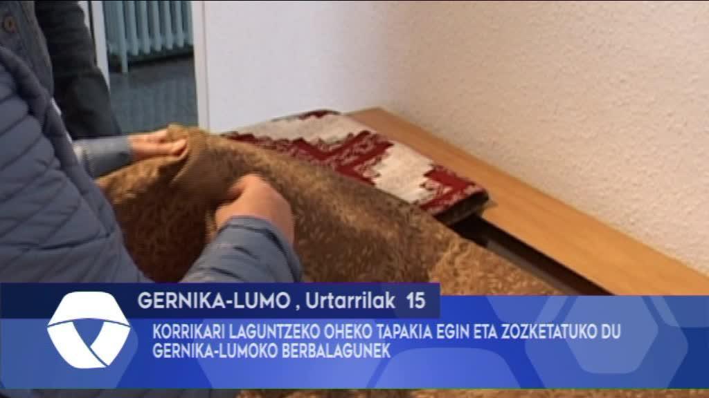 Gernika-Lumoko Korrikari laguntzeko tapakia zozketatuko du Gernika-Lumoko Berbalagunek