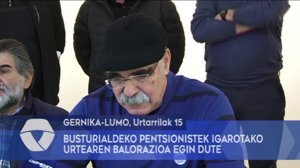 Busturialdeko Pentsionistek igarotako urtearen balorazioa egin dute