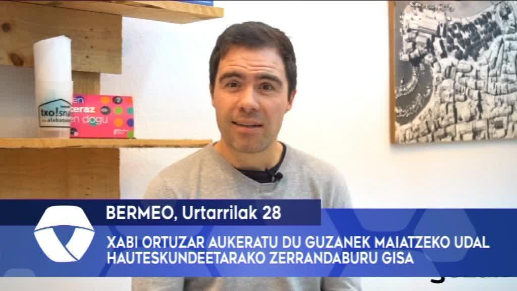 Xabi Ortuzar aukeratu du Guzanek maiatzeko udal hauteskundeetarako zerrendaburu gisa