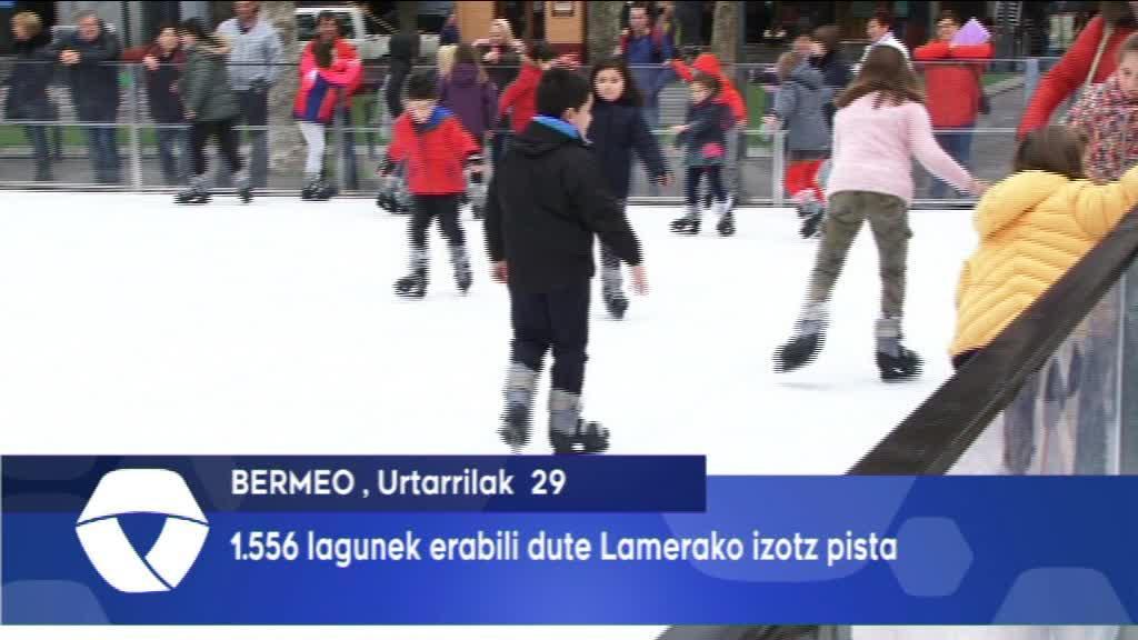 1.556 LAGUNEK ERABILI DUTE LAMERAKO IZOTZ PISTA