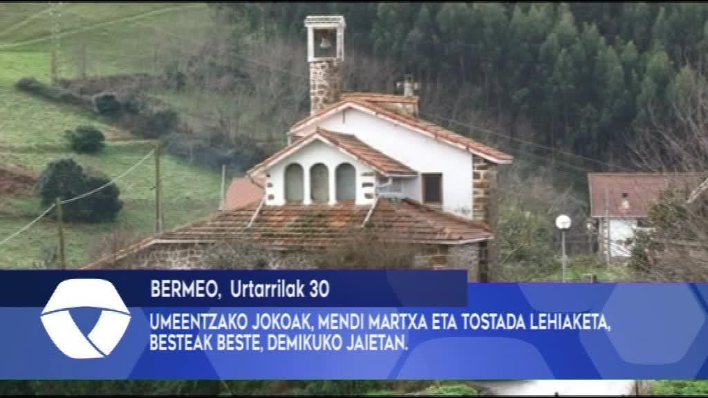 UMEENTZAKO JOKOAK, MENDI MARTXA ETA TOSTADA LEHIAKETA, BESTEAK BESTE, DEMIKUKO JAIETAN