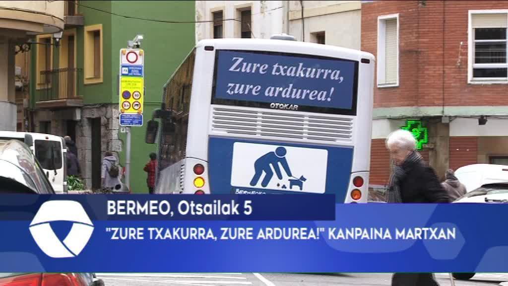 ZURE TXAKURRA, ZURE ARDUREA KANPAINA MARTXAN