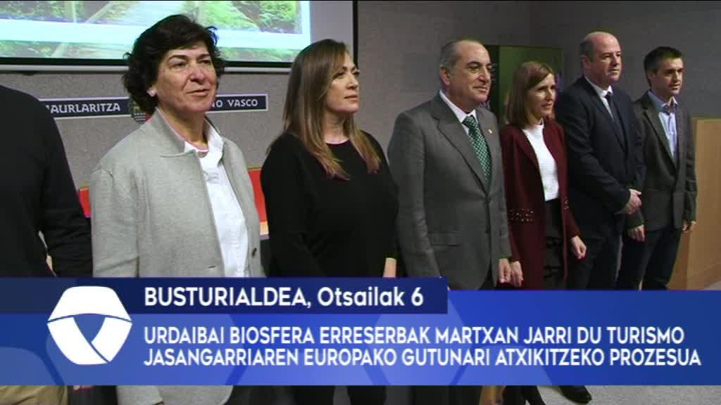 Urdaibai Biosfera Erreserbak martxan jarri du Turismo Jasangarriaren Europako Gutunari atxikitzeko prozesua