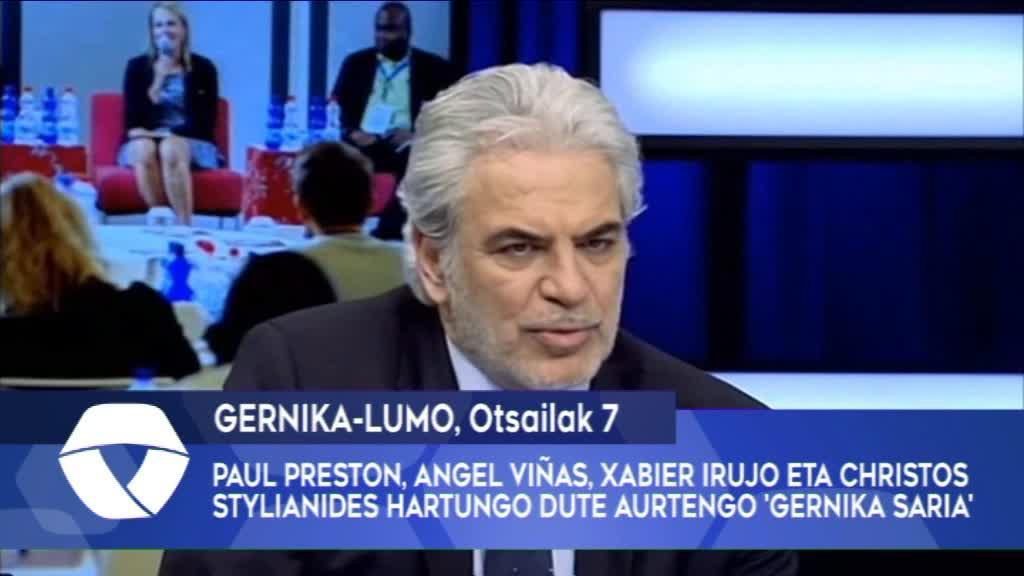 Paul Preston, Angel Viñas, Xabier Irujo eta Christos Stylianides hartungo dute aurtengo 'Gernika Saria'