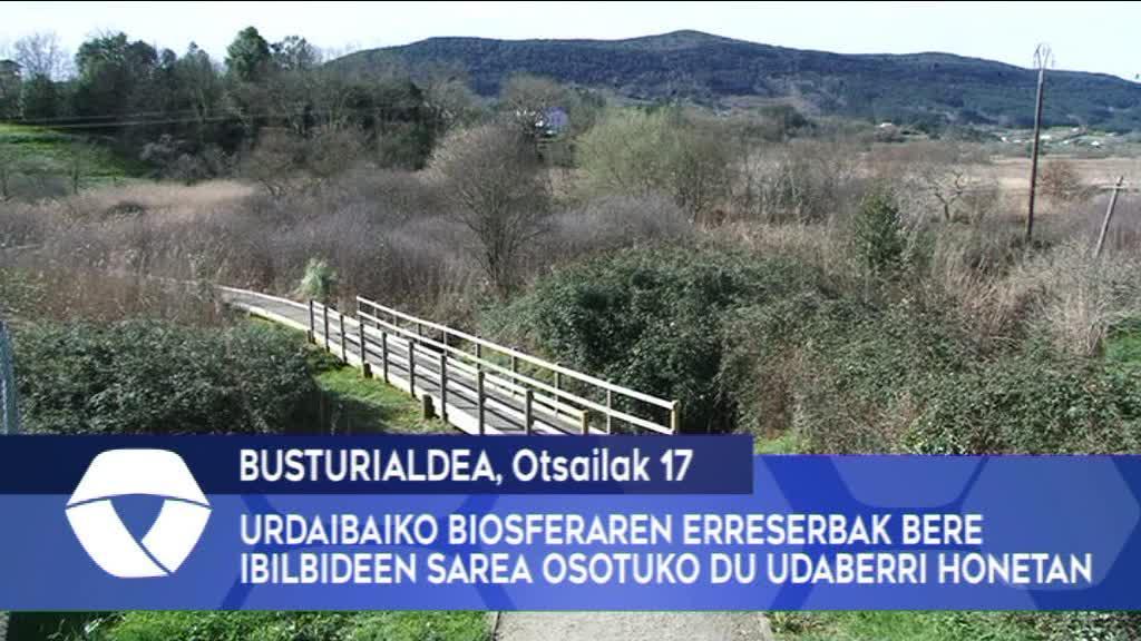 Urdaibaiko Biosferaren Erreserbak bere ibilbideen sarea osotuko du udaberri honetan