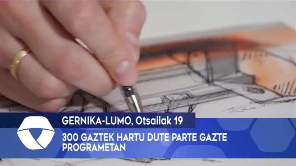 300 gaztek hartu dute parte gazte programetan Busturialdean