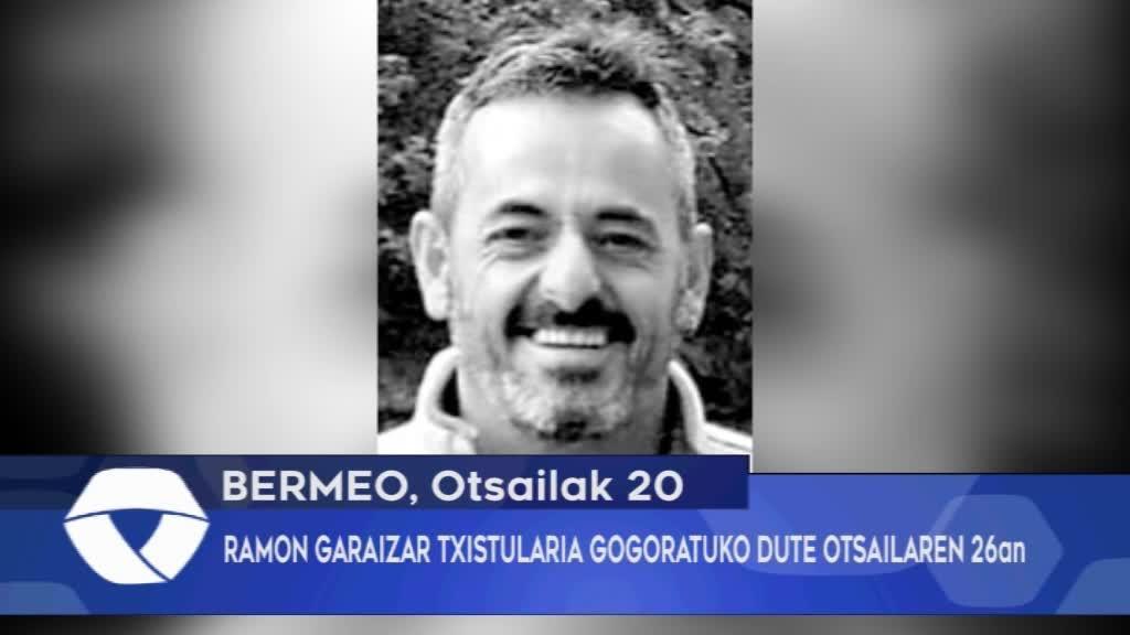 RAMON GARAIZAR TXISTULARIA GOGORATUKO DUTE OTSAILAREN 26an