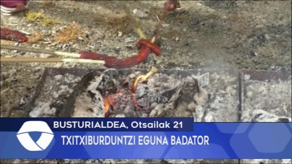 TXITXIBURDUNTZI EGUNA BADATOR