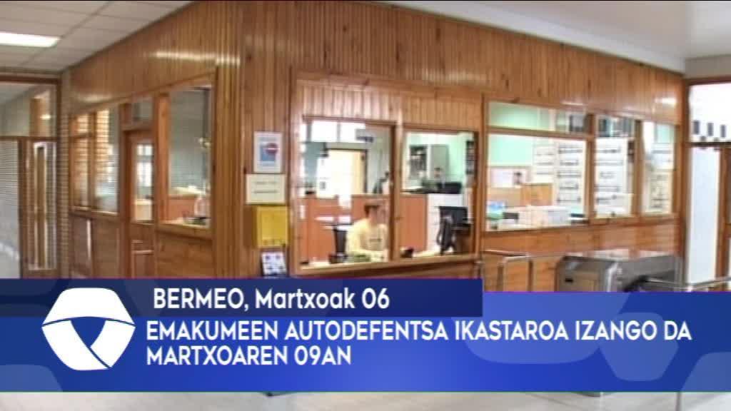 Emakumeen Autodefentsa Ikastaroa izango da martxoaren 9an