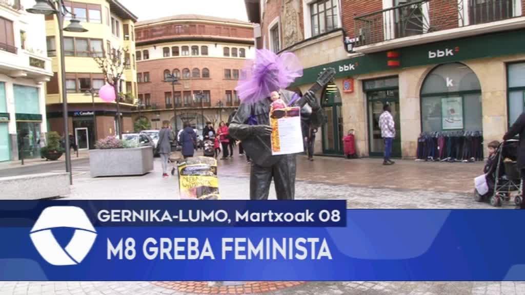 GERNIKA-LUMOKO M8ko GREBA FEMINISTA_ EGUNEKO EKITALDIEN LABURPENA