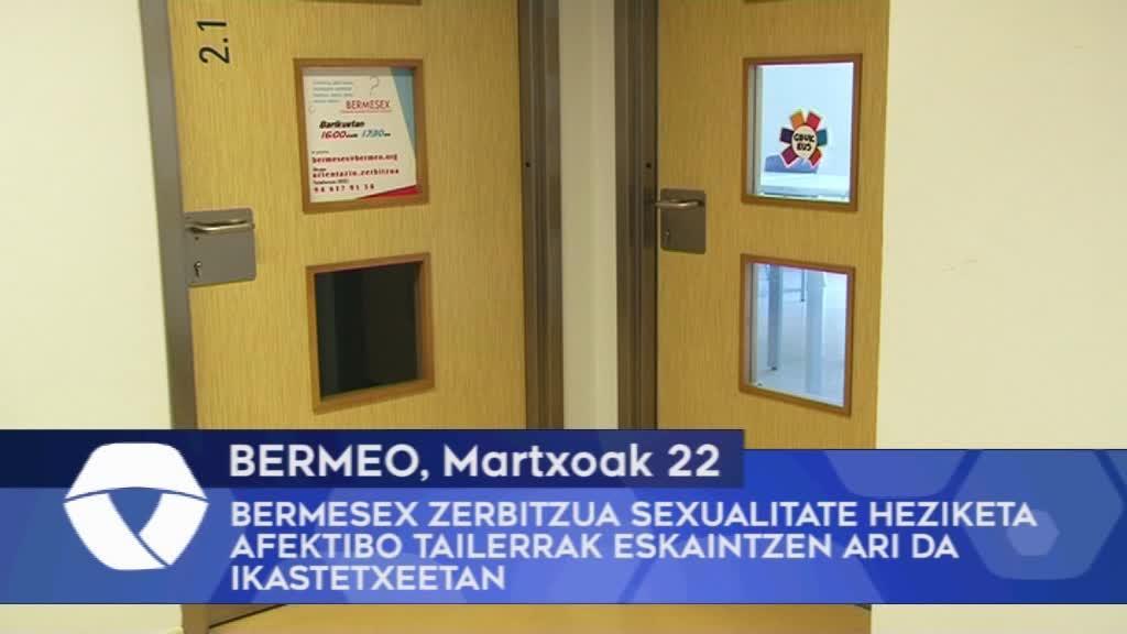 Bermesex zerbitzua sexualitate heziketa afektibo tailerrak eskaintzen ari da Bermeoko ikastetxeetan
