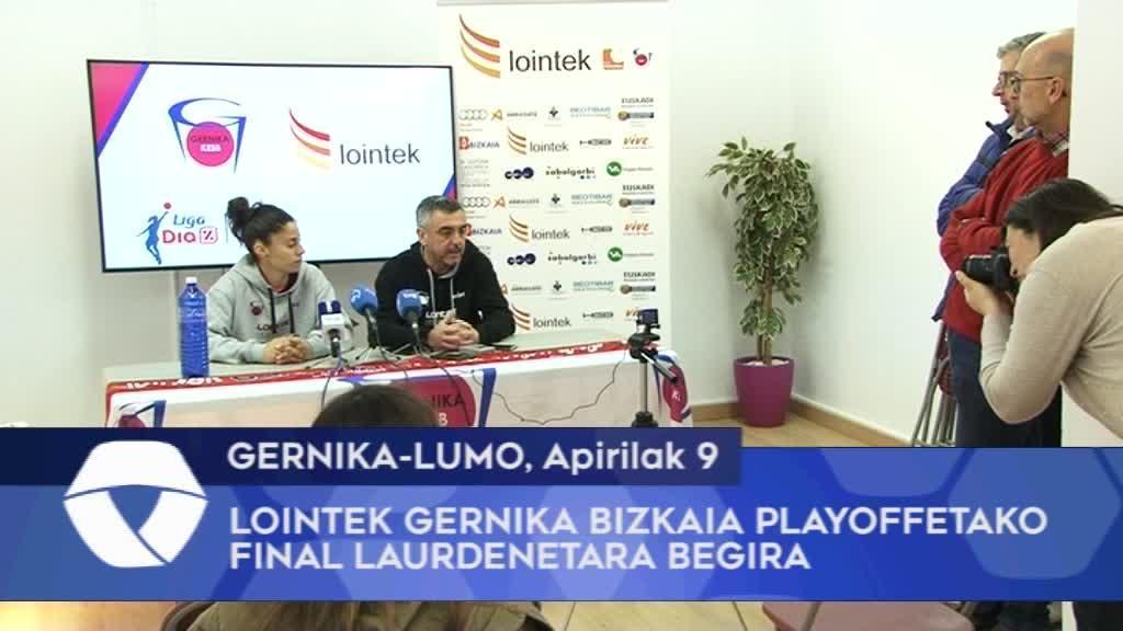 Lointek Gernika Bizkaia playoffetako final laurdenetara begira