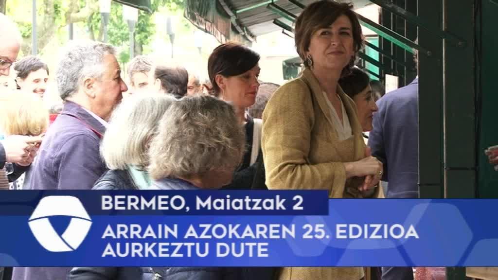Bermeoko Arrain Azokaren 25. edizioa aurkeztu dute
