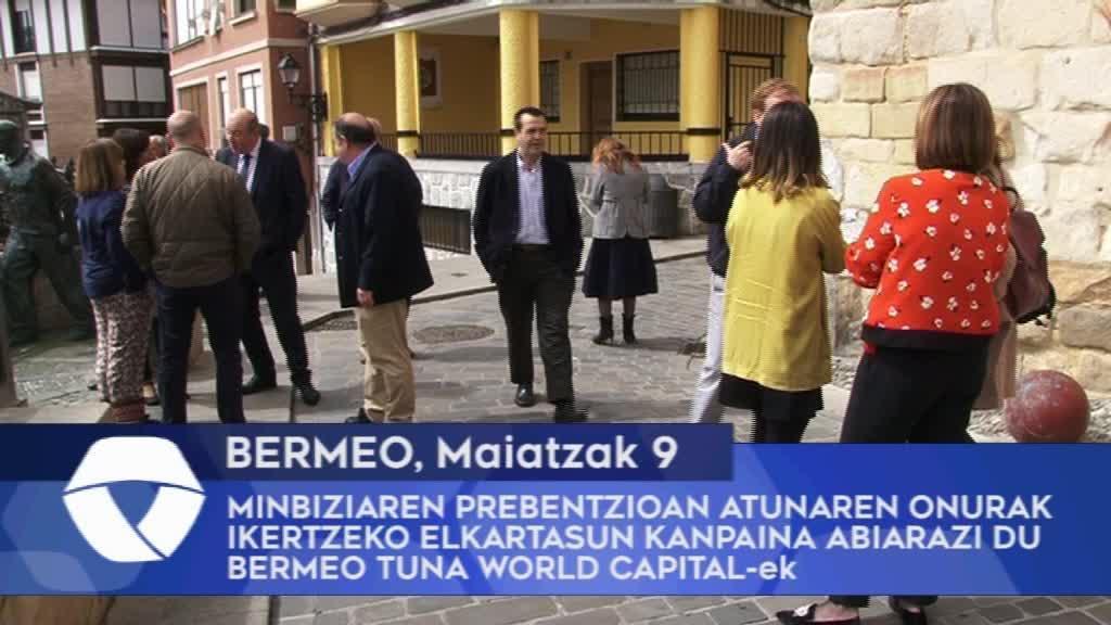 Minbiziaren prebentzioan atunaren onurak ikertzeko elkartasun kanpaina abiarazi du Bermeo Tuna World Capital-ek