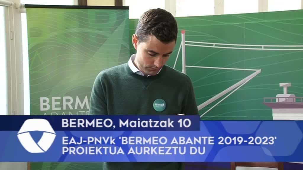 Bermeoko EAJ-PNVk 'Bermeo Abante 2019-2023' proiektua aurkeztu du