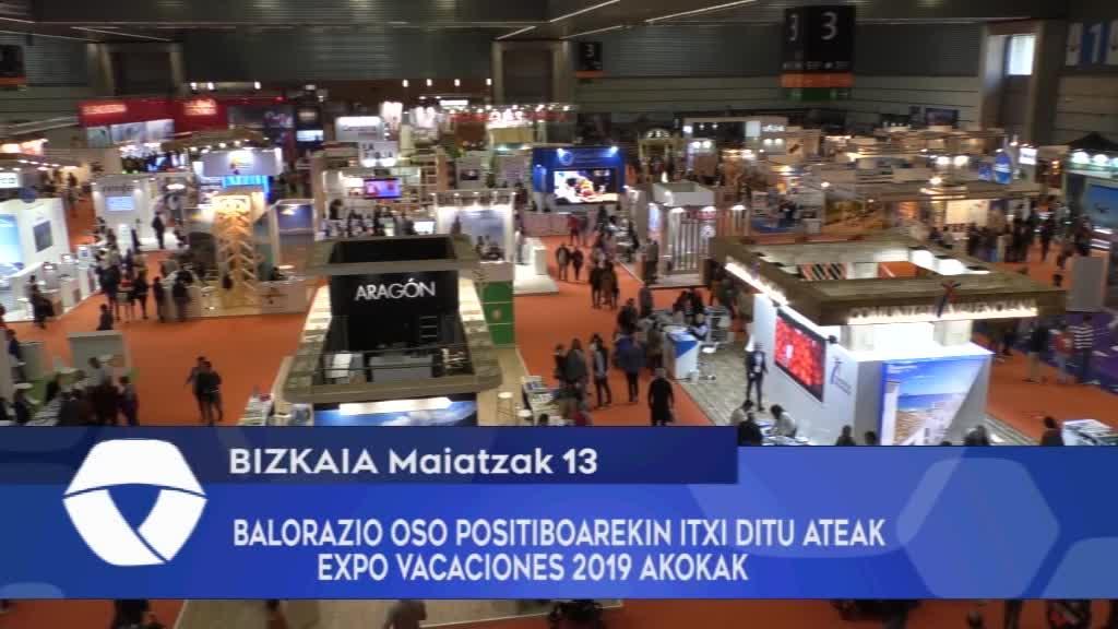 BALORAZIO OSO POSITIBOAREKIN ITXI DITU ATEAK EXPO VACACIONES 2019 AZOKAK