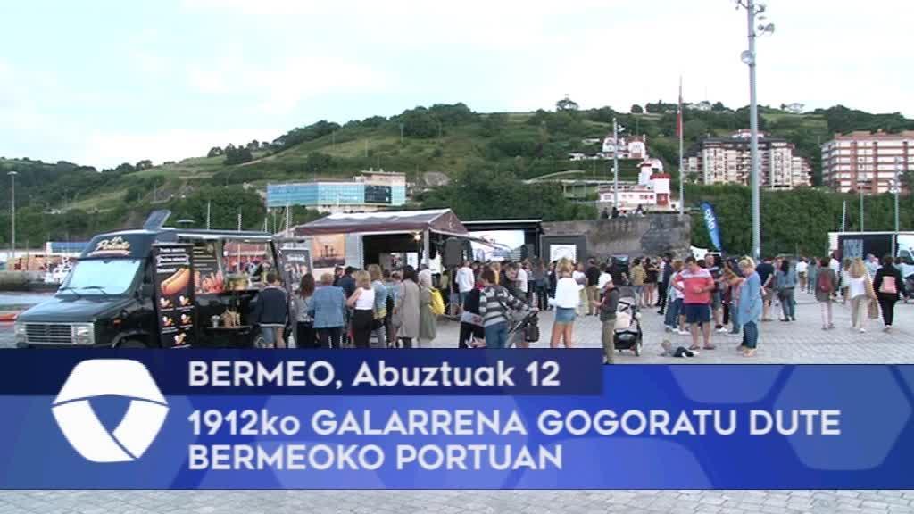 1912ko Galarrena gogoratu dute Bermeoko portuan