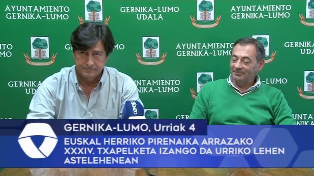 Euskal Herriko Pirenaika Arrazako XXXIV txapelketa izango da Gernika-Lumon, urriko lehen astelehenean