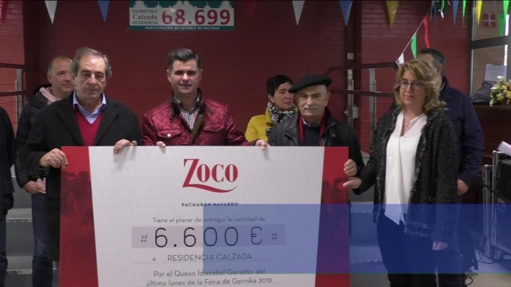 GAZTAREN ENKANTEKO 7000 EUROAK JASO DITU KALTZADA EGOITZAK
