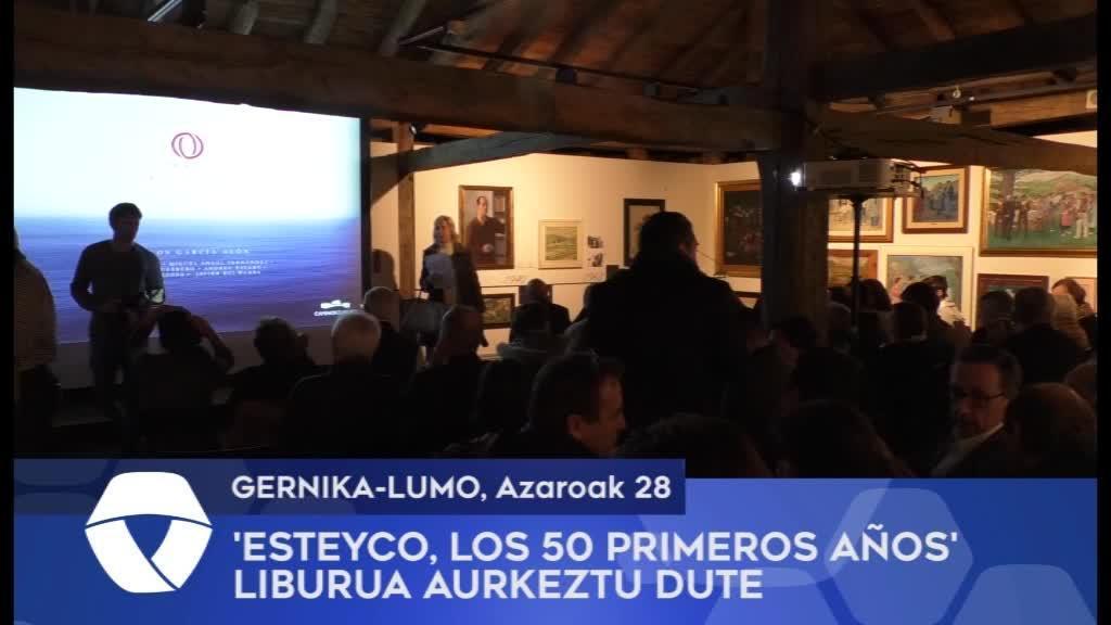 'Esteyco, Los Primeros 50 Años' liburua aurkeztu dute Gernika-Lumoko Euskal Herria Museoan