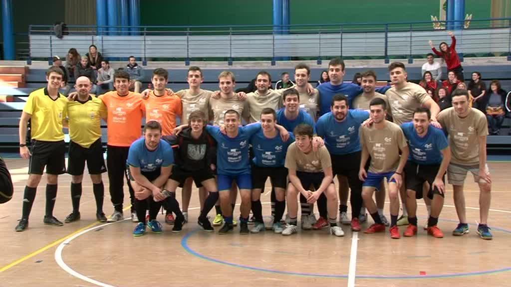 Doniene nagusi 24 orduko areto-futbol txapelketan