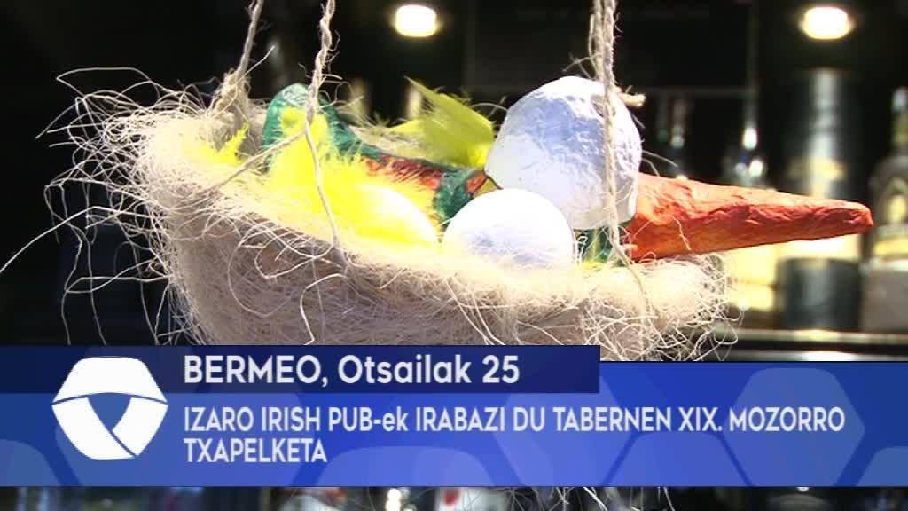 Izaro Irish Pub-ek irabazi du Bermeoko Tabernen XIX. Mozorro Txapelketa