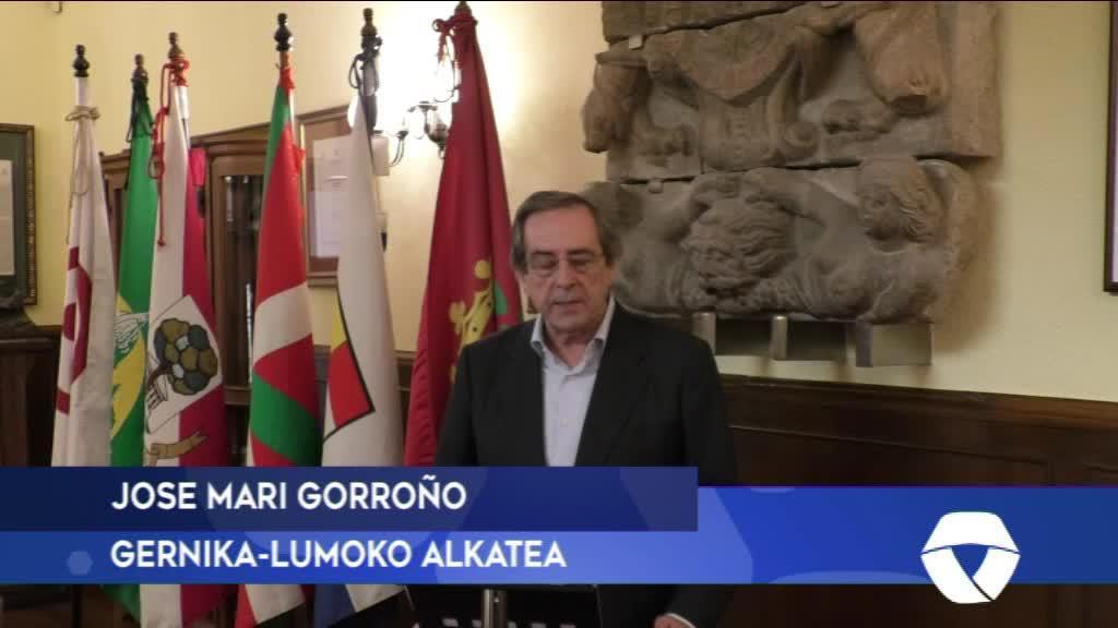 JOSE MARI GORROÑO ALKATEAREN MEZUA KORONABIRUSAREN AZKEN DATUAK 2020-03-23