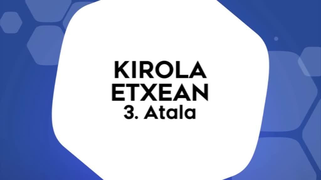 Kirola Etxean 3. atala