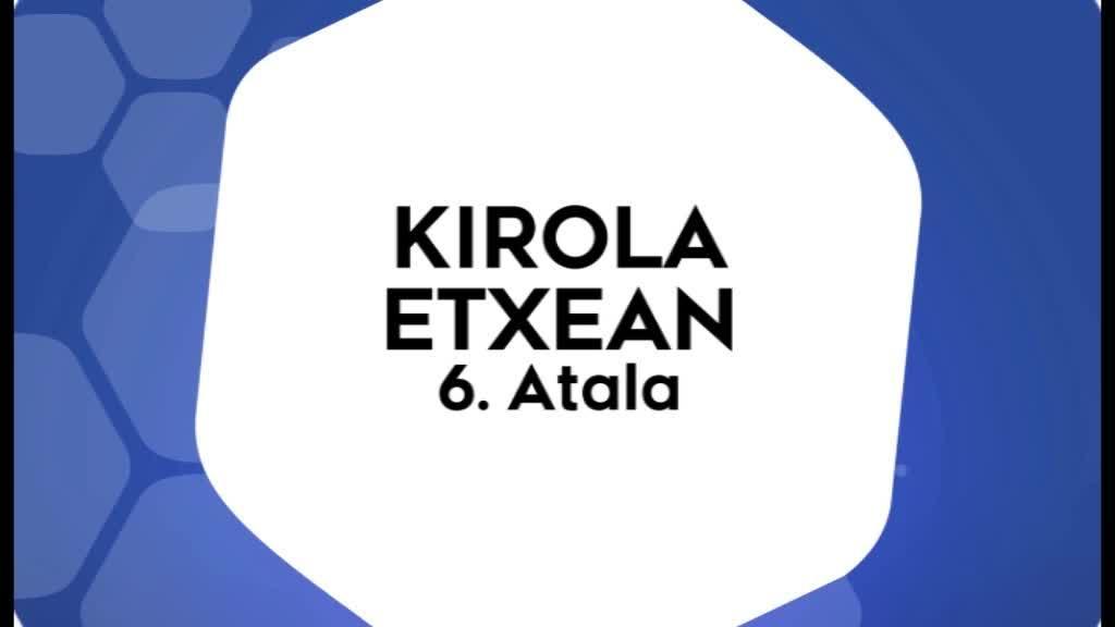 Kirola Etxean 6. atala