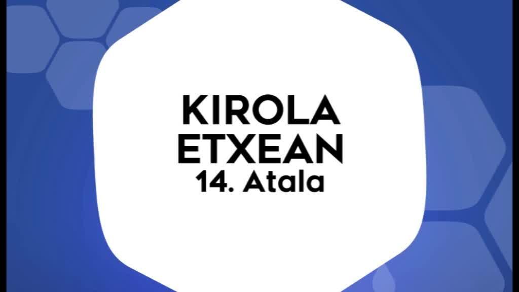 Kirola Etxean 14 atala