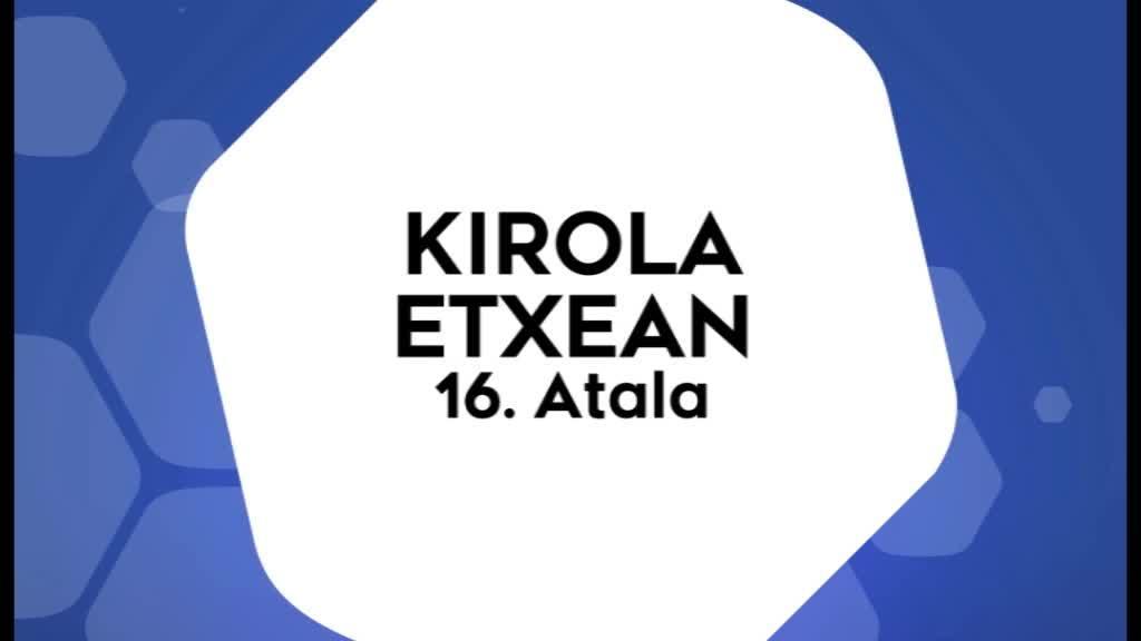 Kirola Etxean 16. atala